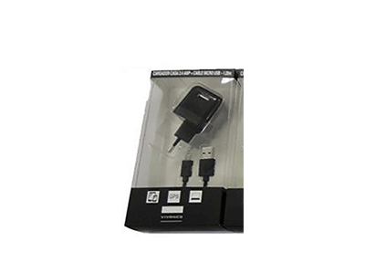 Vivanco 76813 - Cargador Casa + Cable Usb