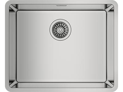 Teka RS15 45.40 - Fregadero De Cocina Acero 60 Cm 1 Cubeta 0 Escurridor