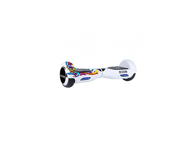 Olsson RACING WHITE - Movilidad Hoverboard OLSSON RACING WHITE