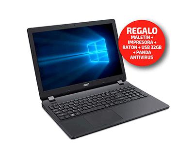 "Acer EXTENSA2519 - Portatil Procesador Celeron 500 Gb Disco 15,6"""