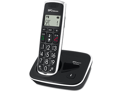 Spc 7608 NEGRO - Telefono Sobremesa