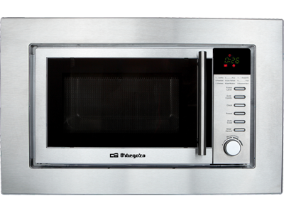 Orbegozo MIG 2025 INOX - Horno Microondas Integrable 20 Litros Con Grill Inox