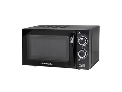 Orbegozo MIG 2031 - Horno Microondas Con Grill 20 Litros Negro
