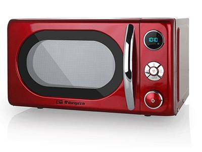 Orbegozo MIG2042 - Horno Microondas Con Grill 20 Litros Rojo