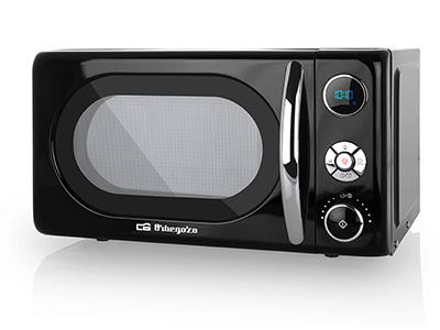 Orbegozo MIG2044 - Horno Microondas Con Grill 20 Litros Negro