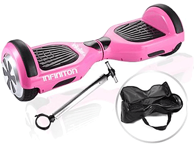 Infiniton KIT IN-ROLLER 2.0 + POLE ROSA - Hoverboard