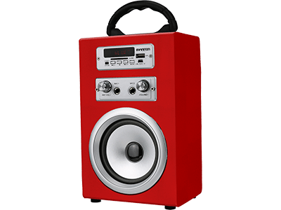 Infiniton K8 ROJO - Altavoz 5W FM Bluetooth