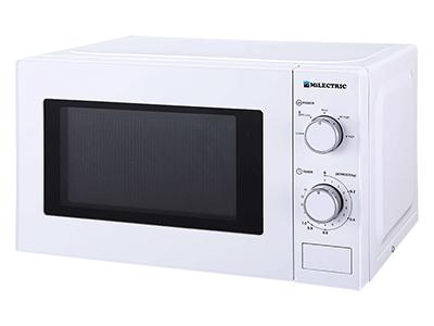 Milectric MIW-20LB - Horno Microondas Sin Grill 20 Litros Blanco