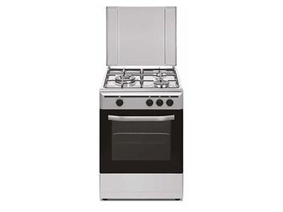 Vitrokitchen CB5530IN - Cocina De Gas 3 Zonas Coccion Inox