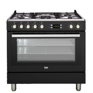 Beko GM 15310 DB - Cocina De Gas 4 Zonas Coccion Negra Gb