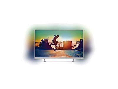"Philips 49PUS6482/12 - Televisor Led Smart Tv 4k 16 Gb Ambilight 3 Lados 49"""