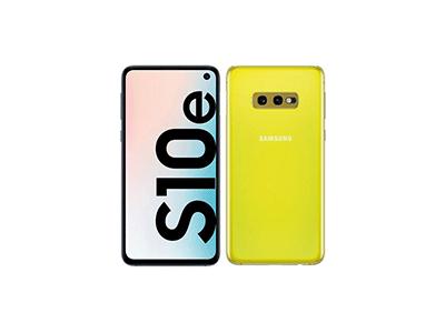 """Samsung GALAXY S10E AMARILLO - Telefono Movil 5,8"""" Android"""