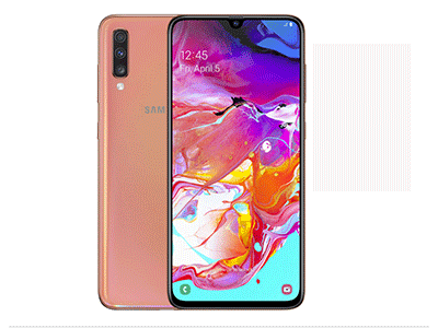 "Samsung GALAXY A70 CORAL - Telefono Movil 6,7"" Android"
