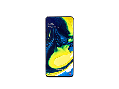 "Samsung GALAXY A80 PLATA - Telefono Movil 6,7"" Android"